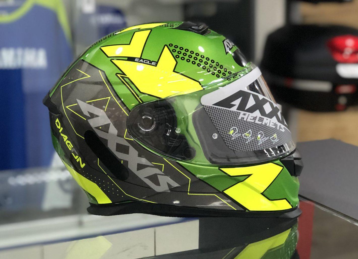 Axxis Eagle Diagon – Verde e amarelo