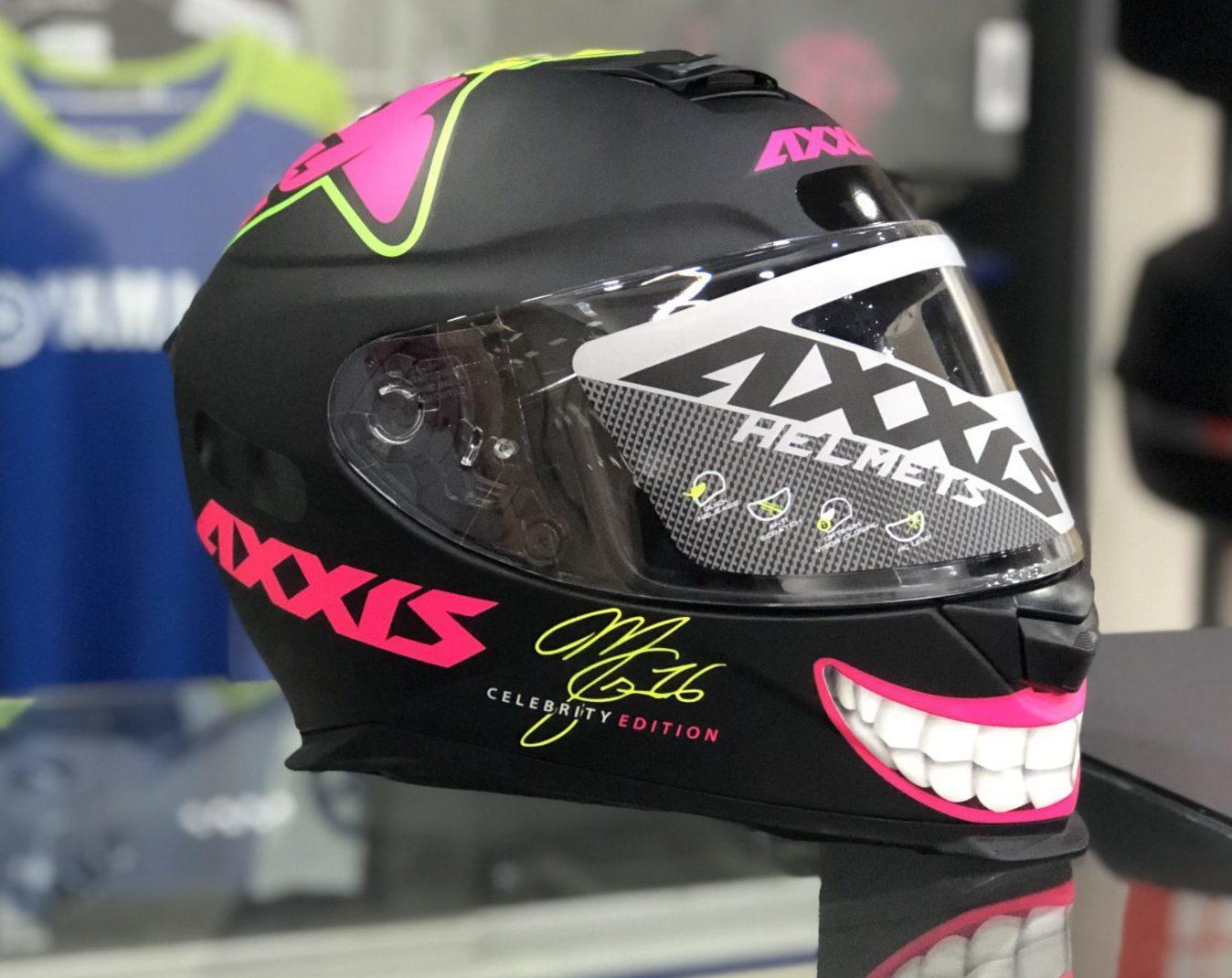 Axxis Eagle MG16 Marianny – Preto fosco e rosa