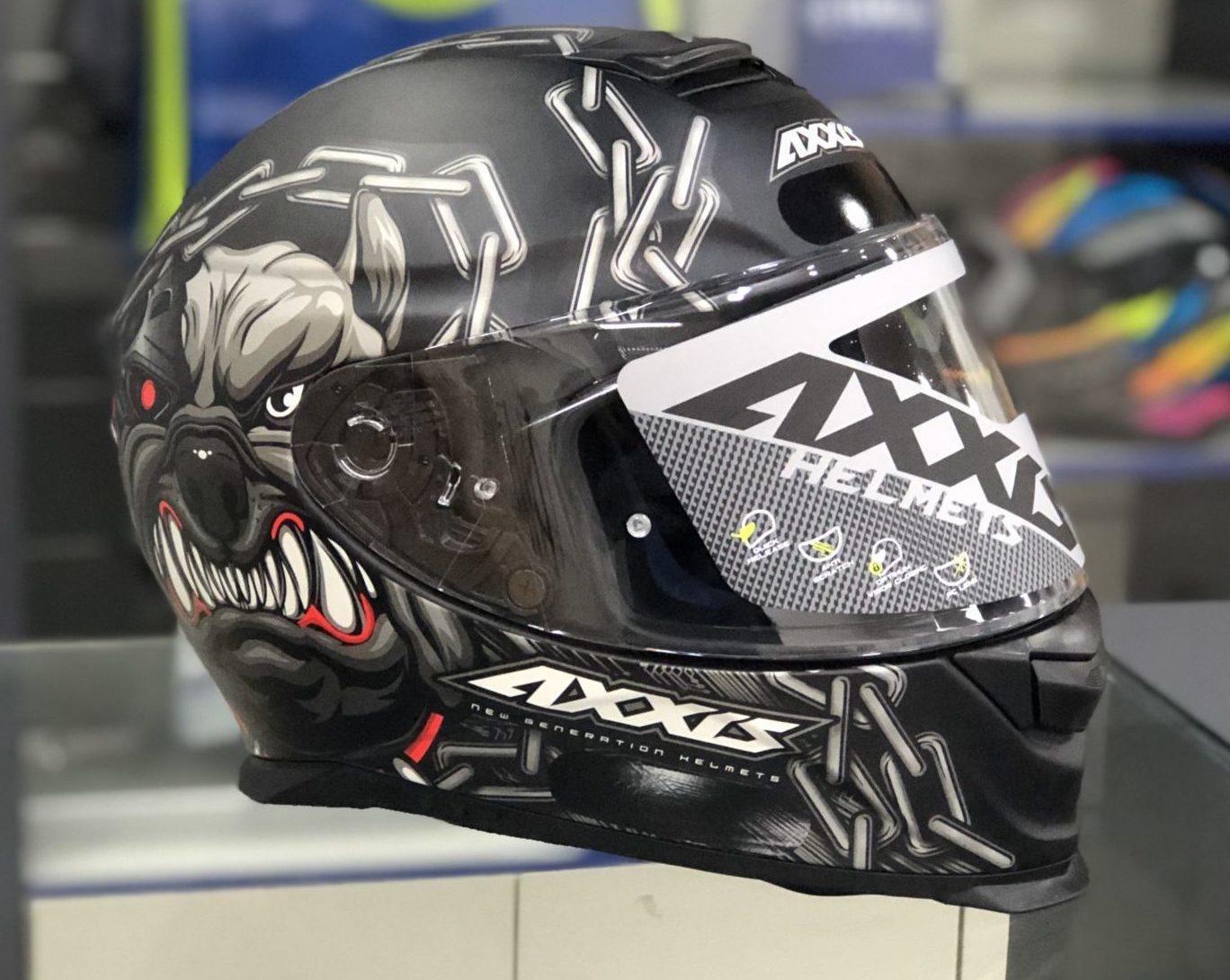 Axxis Eagle Bull Dog – Preto fosco