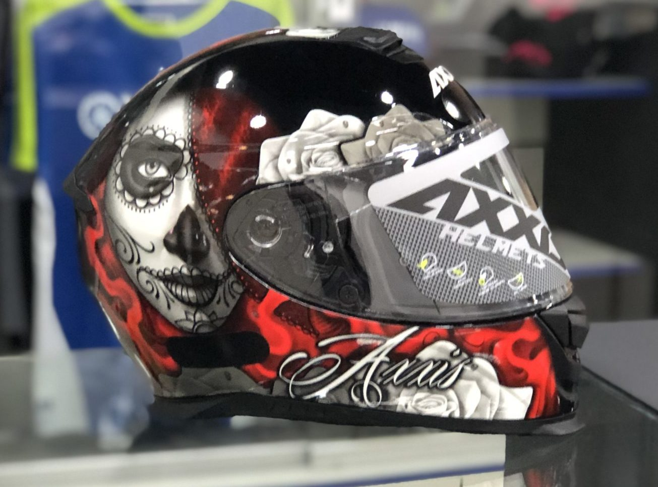Axxis Eagle Lady – Vermelho e preto